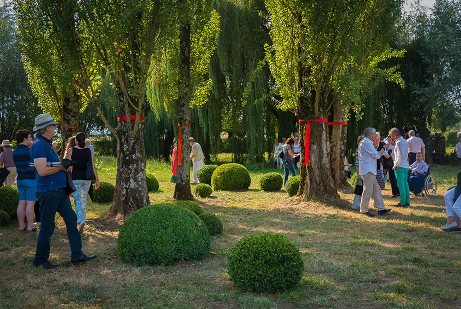 Jardin de musique festival Les arts florissants william Christie®Hermelinecarpentier