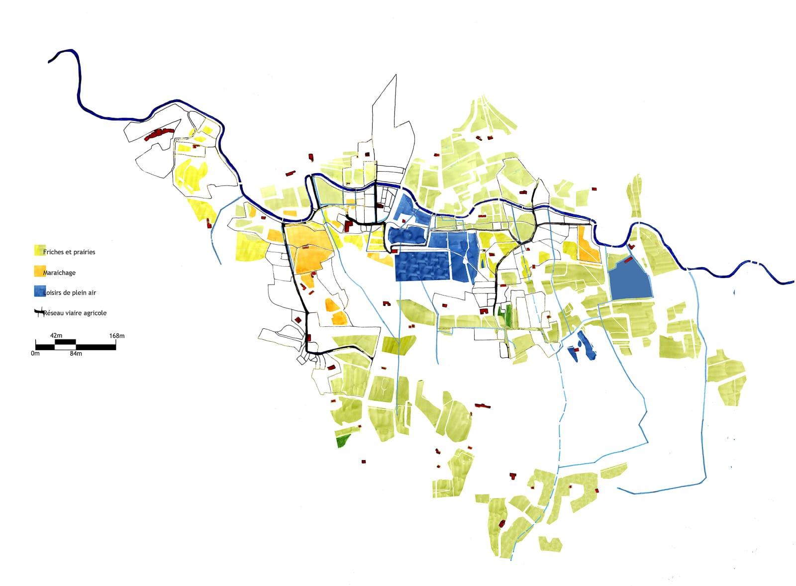 Frange ville nature Marseille agriculture loisir parcellaire®Hermeline Carpentier jeanne Roche