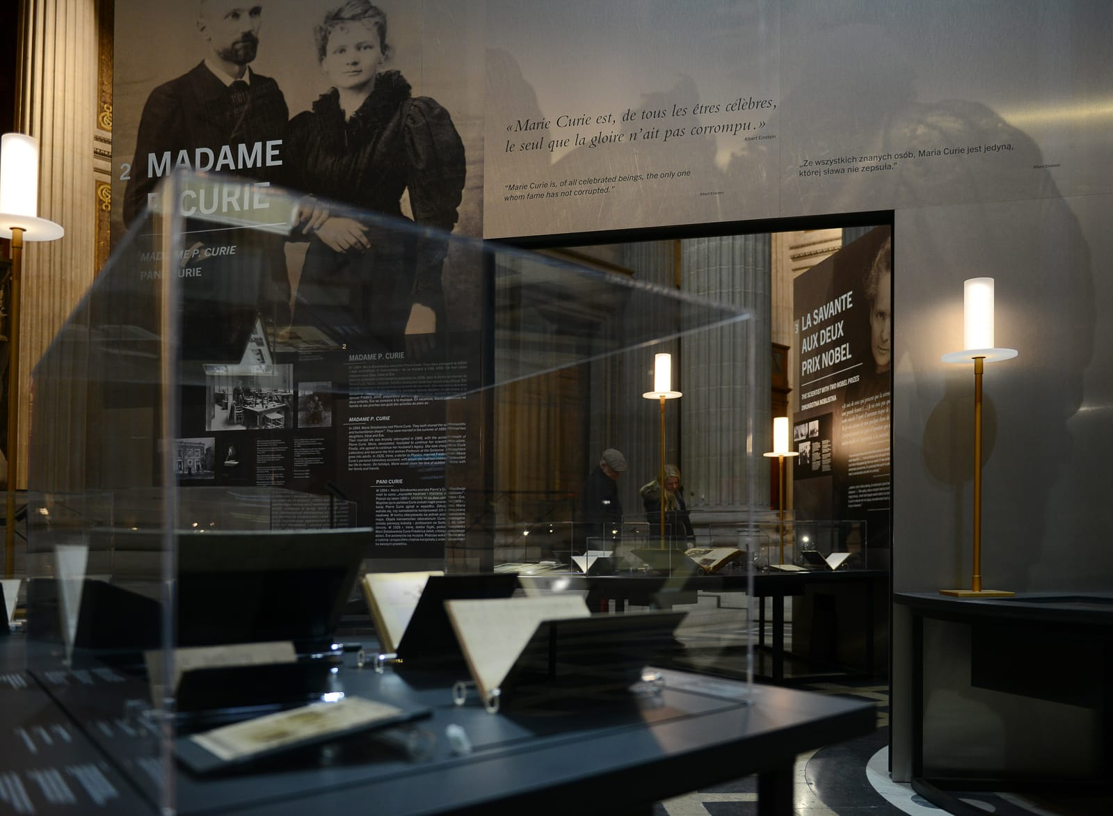 Exposition Marie Curie ®Raymond Sarti photo Michel Gantner