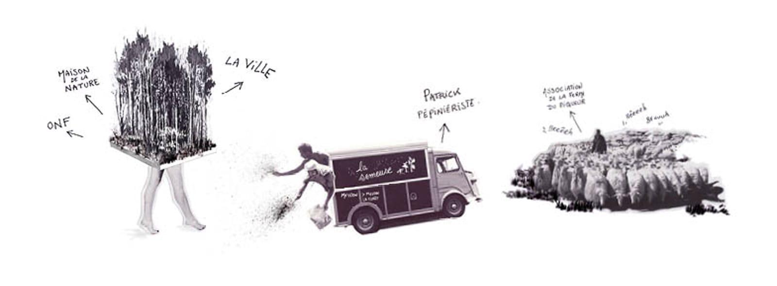 illustration PPLU habiter la foret®HermelineCarpentier