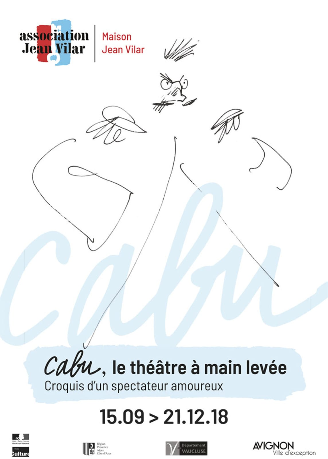 exposition Cabu Maison Jean Vilar 2018