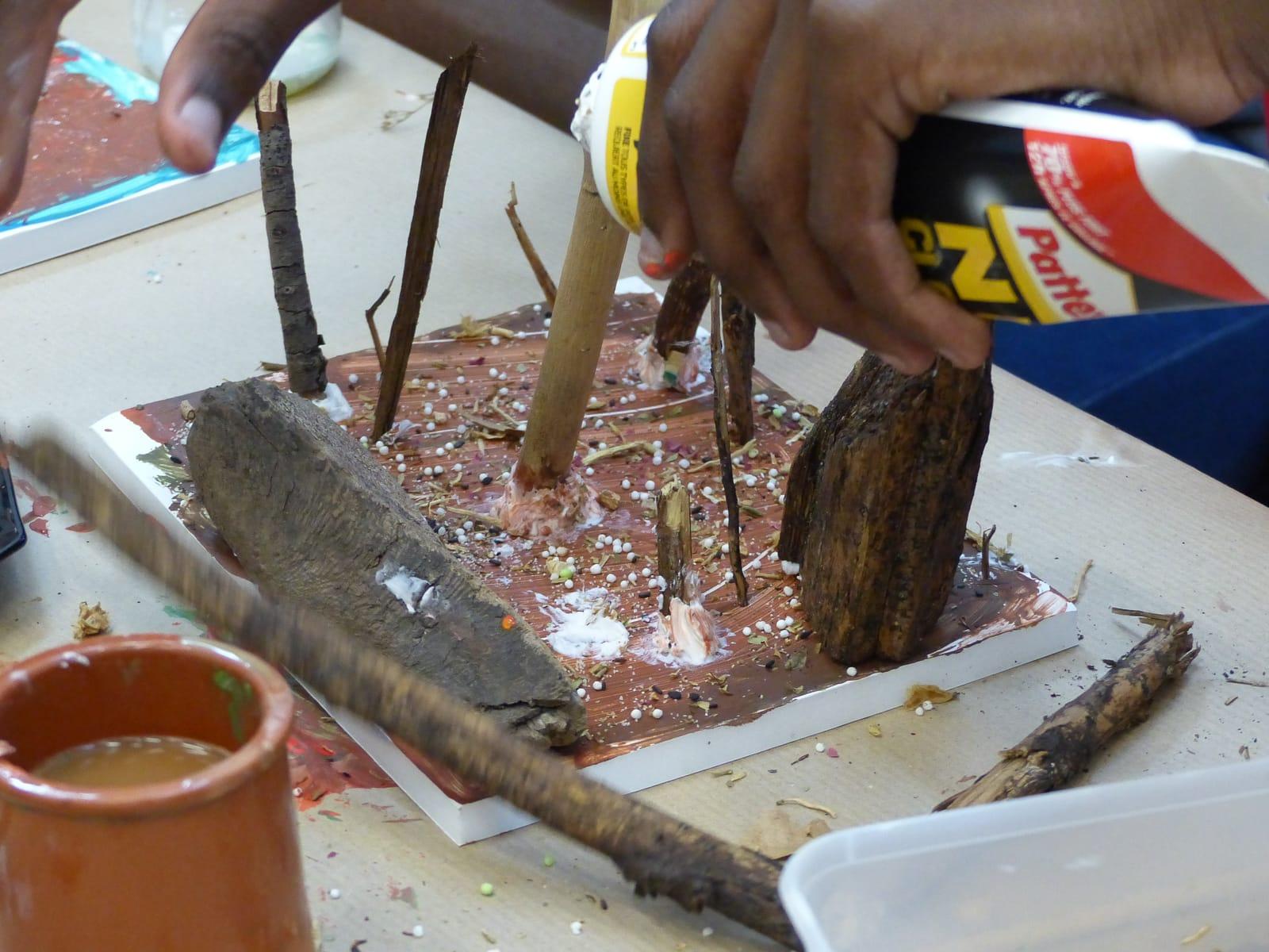 Ateliers les enfants du patrimoine un jardn dans ma main CAUE 94®Hermeline carpentier