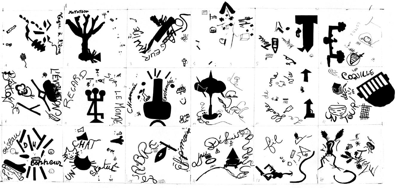 carte chimérique dessinée